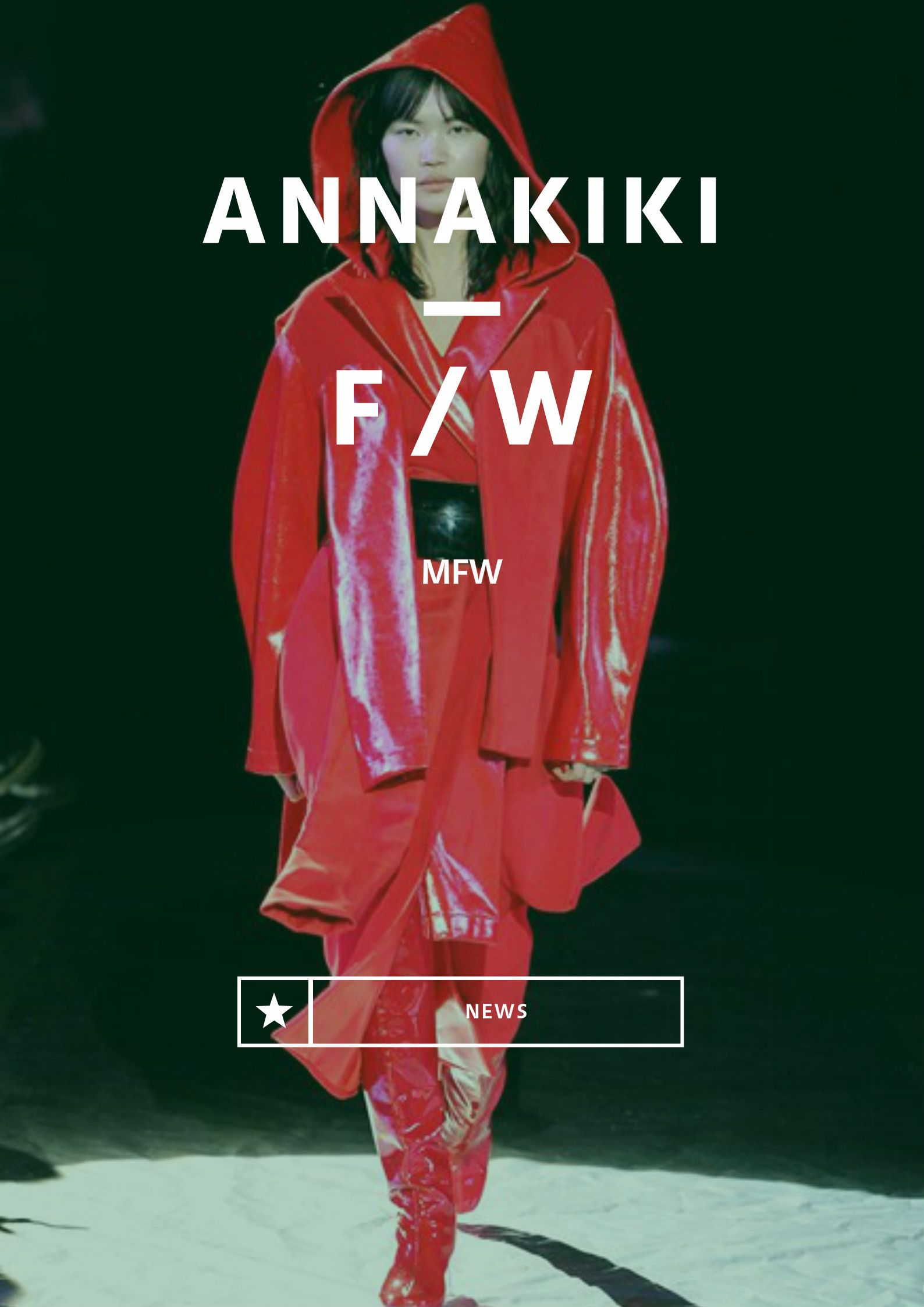 ANNAKIKI FW17/18 #UnsolvedMysteries