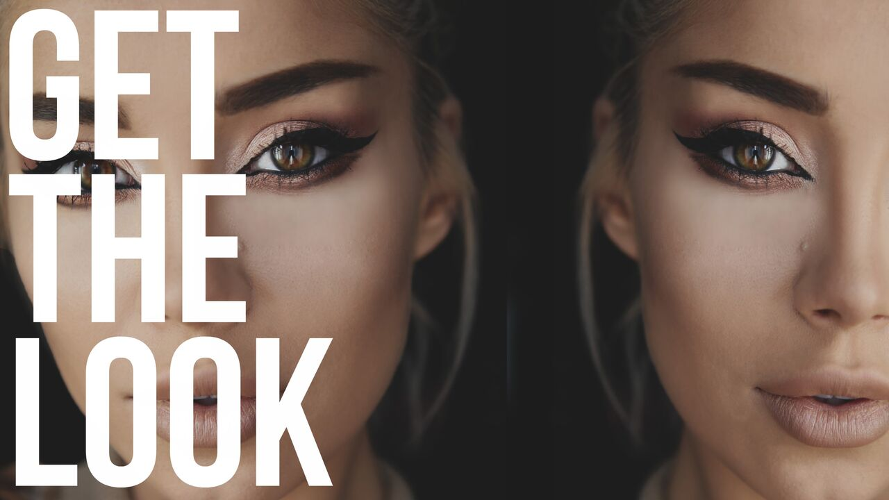 GET THE LOOK: The Shimmery Cat Eye inspired by #iFUSE