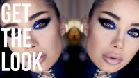 GET THE LOOK: Glitter Cat Eye inspired by #iFUSE