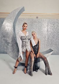 We went to the Crystal Wonderland Party by Swarovski