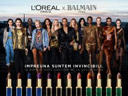 BALMAIN Paris x L'Oreal Paris Lipstick Collection