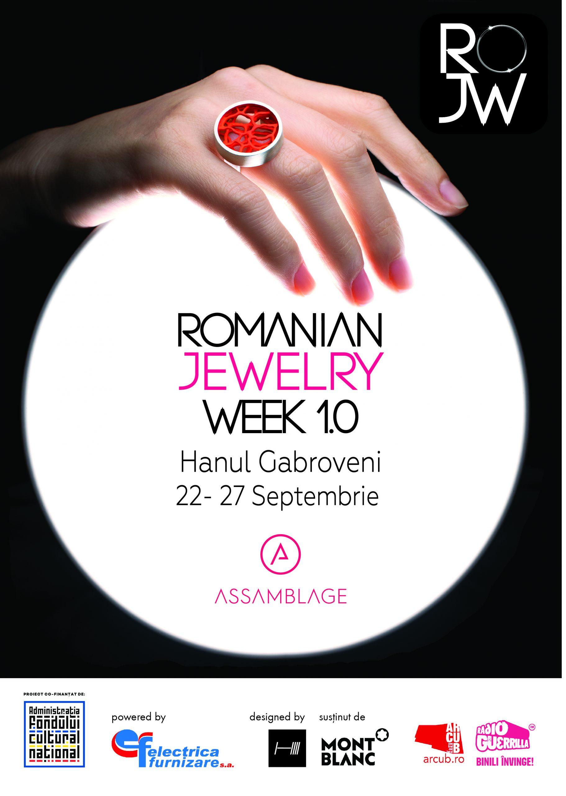 Assamblage anunta prima ediție ROMANIAN JEWELRY WEEK  22-27 septembrie 2020