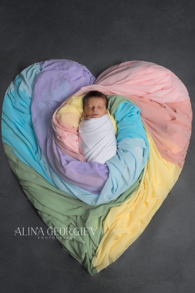 Rainbow Baby Soren | Plano Newborn Photographer