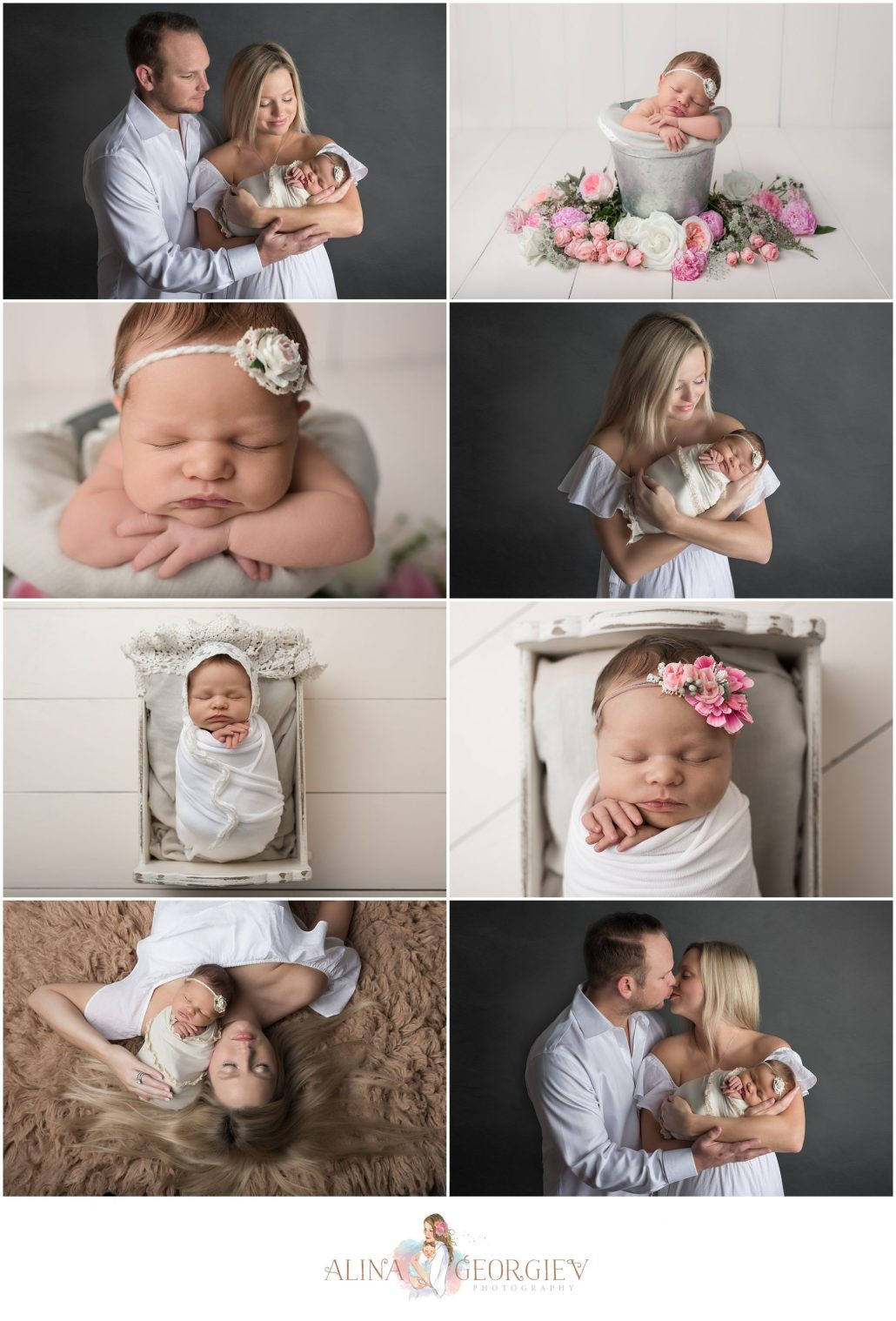 Plano Newborn Photographer Baby Everly