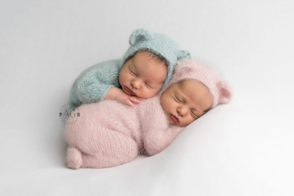 Plano Newborn Photographer Baby Twins