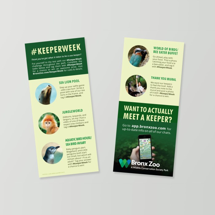 National Zoo Keeper Week Promotion