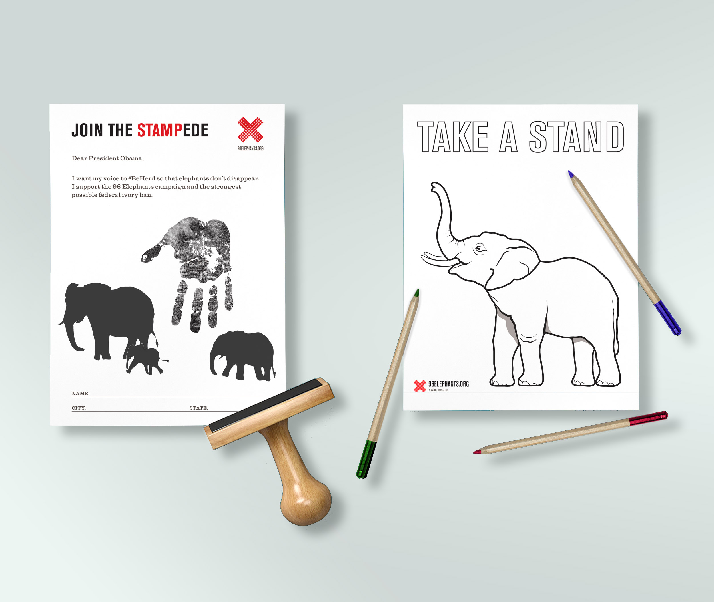 Join the Stampede | 96 Elephants