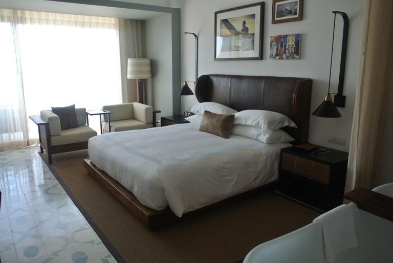 Modern but cozy main room