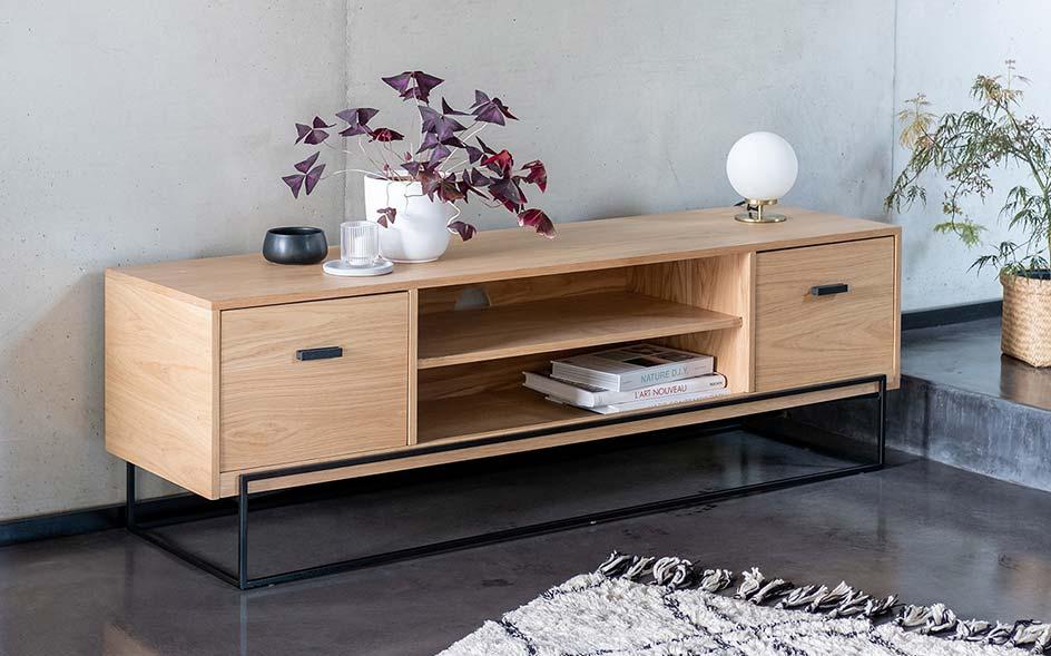 meuble tv meuble bas de salon alinea