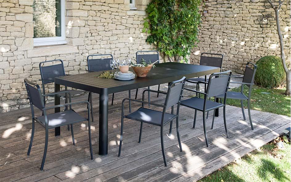 table extensible de jardin meubles de