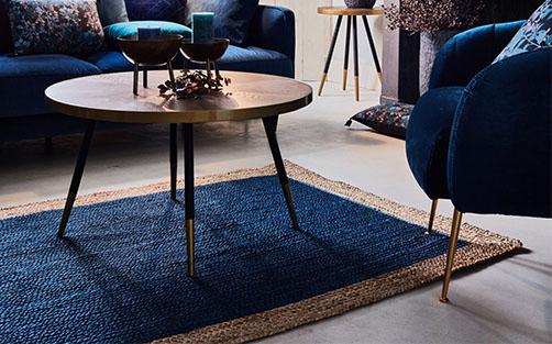 tapis bleu meubles et decoration alinea