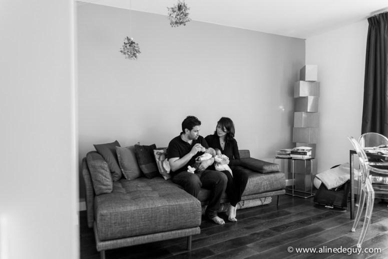 photographe bébé à domicile, paris