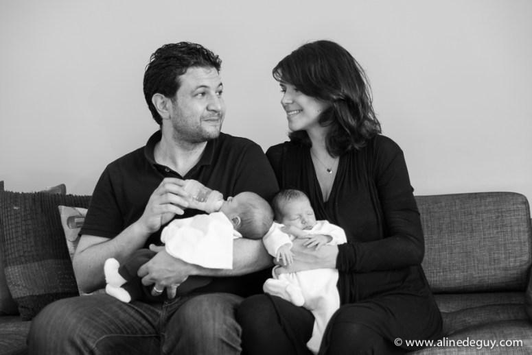 photographe bébé jumeaux