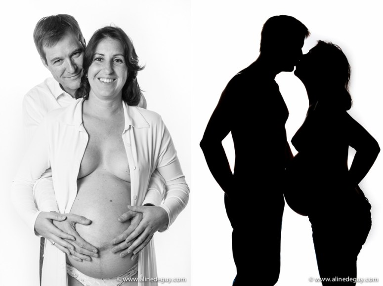 photographe couple studio paris, photos noir et blanc couple, paris 16