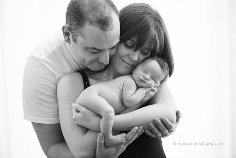 Photographe, couple, bébé, famille, parents, studio, Nanterre, Paris, 92