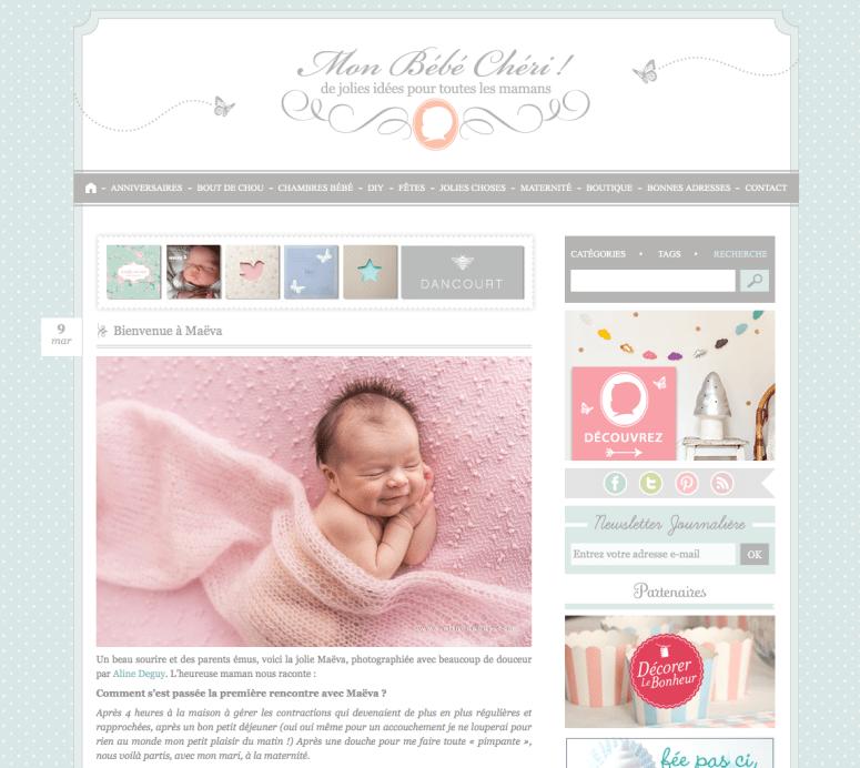 blog photo bébé, photographe bébé paris, mon bébé chéri, Aline Deguy
