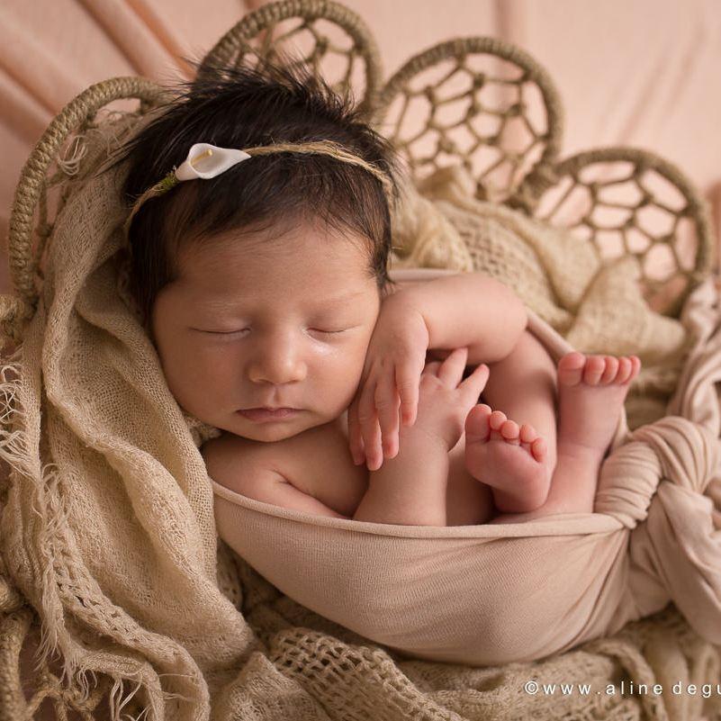 photographe bebe paris, studio photo paris, aline deguy, photo bébé endormi