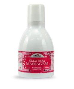 Óleo para massagem Morango com Champanhe
