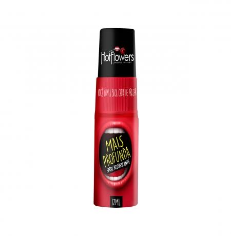 Mais Profunda Spray para oral mais profundo Hot Flowers