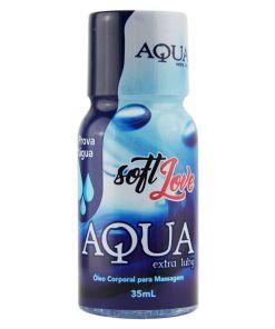 Aqua Extra Luby - Lubrificante Siliconado 35ml Soft Love