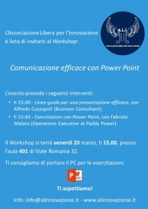 Comunicazione Efficace con Power Point