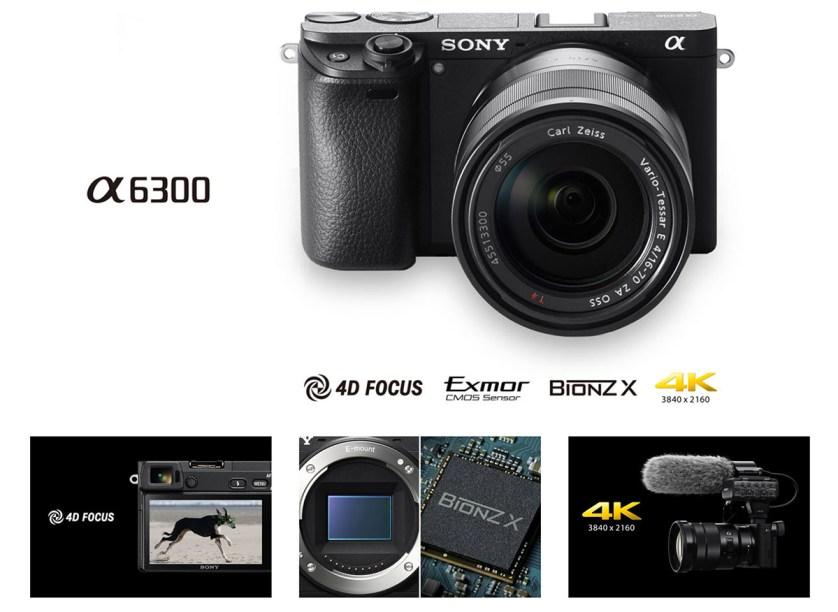 Sony a6300 specs
