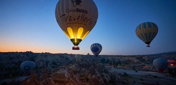 Sony A9 takes a flight in Cappadocia