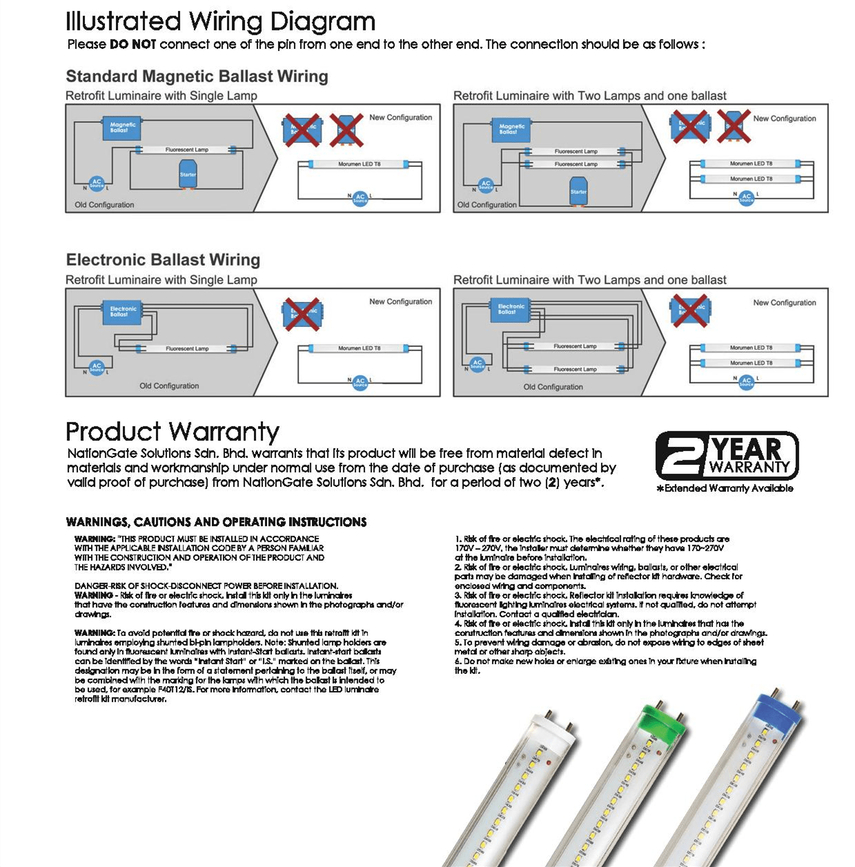 Modern Led Tube T8 Wiring Diagram Picture Collection - Electrical ...
