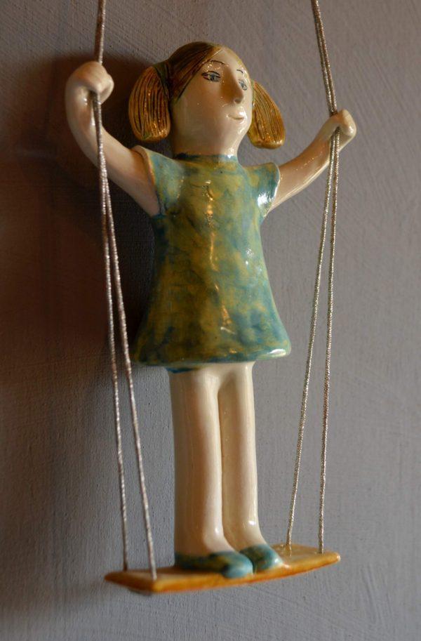 figurative-ceramics - girl-on-swing-2