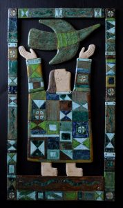 on-board - 23.The-vernal-equinox.chamotteglazespanno-ceramic-decorated-on-the-wood-board.120x60.