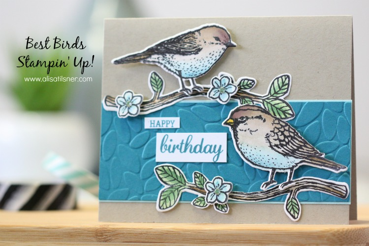 Stampin' Up! Best Birds
