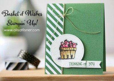 Stampin' Up! Basket of Wishes