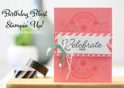 Stampin' Up! Birthday Blast