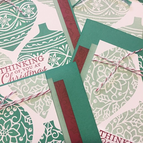 Embellished Ornaments Christmas Stamp a Stack