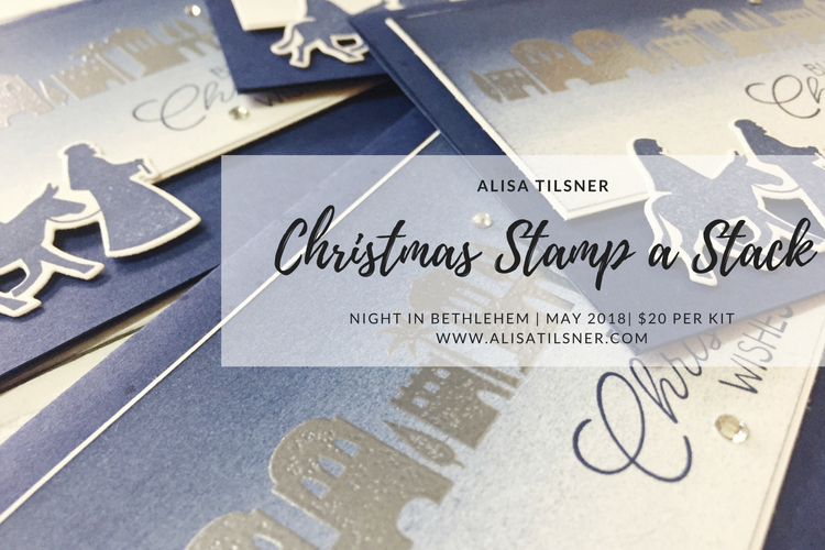 Night in Bethlehem Stamp a Stack