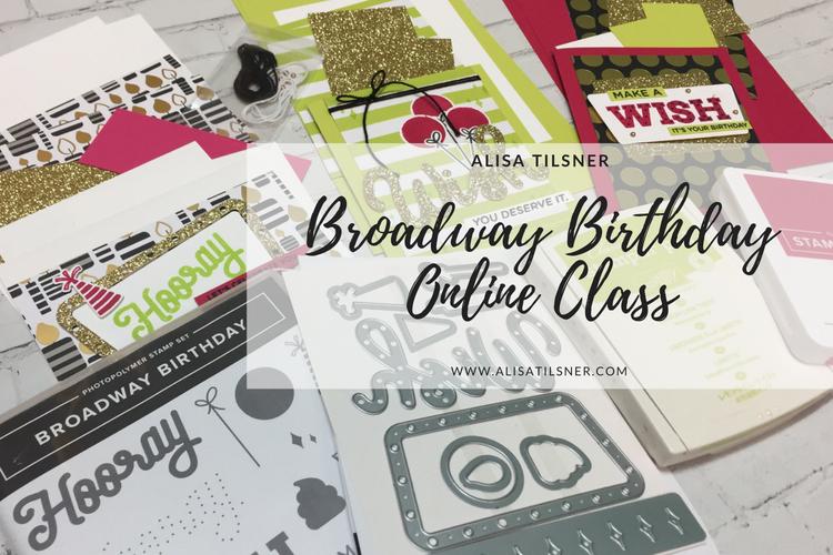 Broadway Birthday Online Class