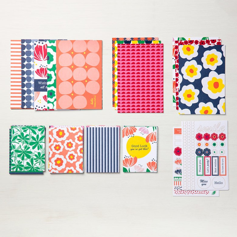 Happiness Blooms Memories & More card pack