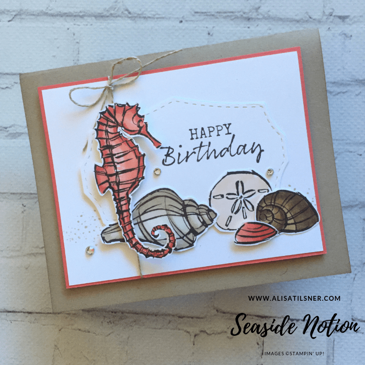 Stampin' Up! Seaside Notions