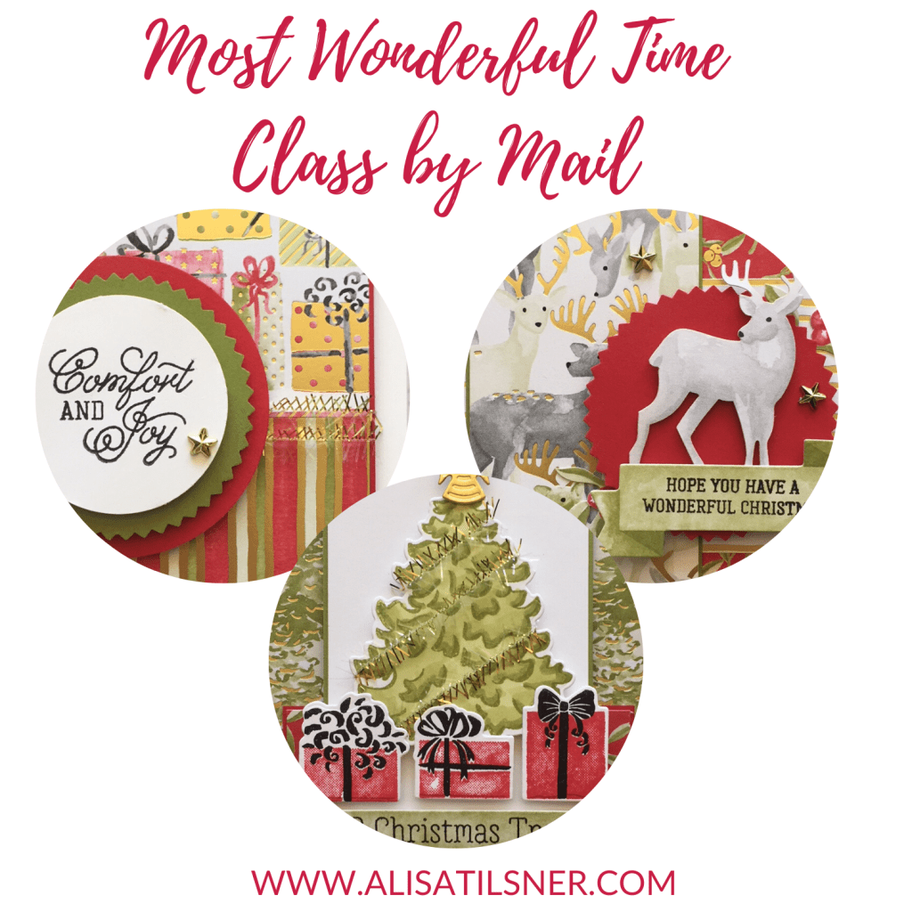 Most Wonderful Time Class by Mail created by Alisa Tilsner