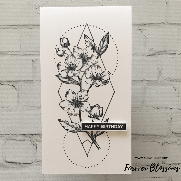 Forever Blossoms Stamp Set by Stampin' Up! Card created by Alisa Tilsner