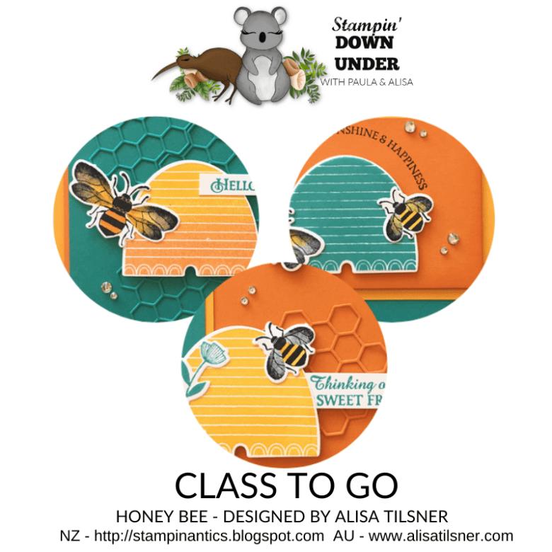 Honey Bee Class to Go - designed by Alisa Tilsner