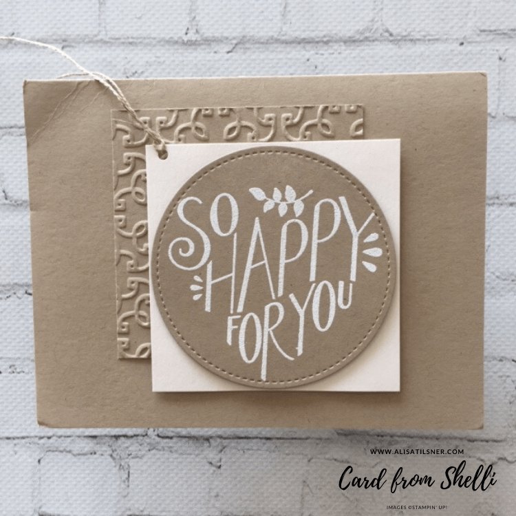 I received a card from Shelli Gardner!
