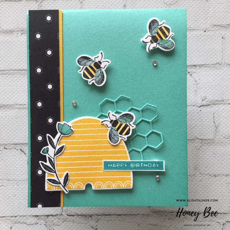 Honey Bee Birthday Cards