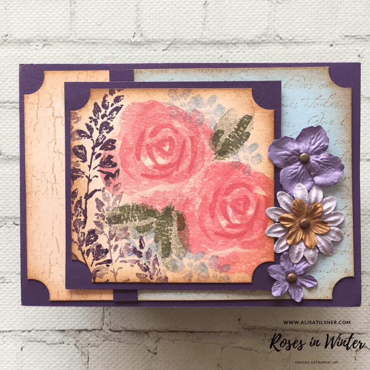 Retired Roses In Winter Stamp Set from Stampin' Up!