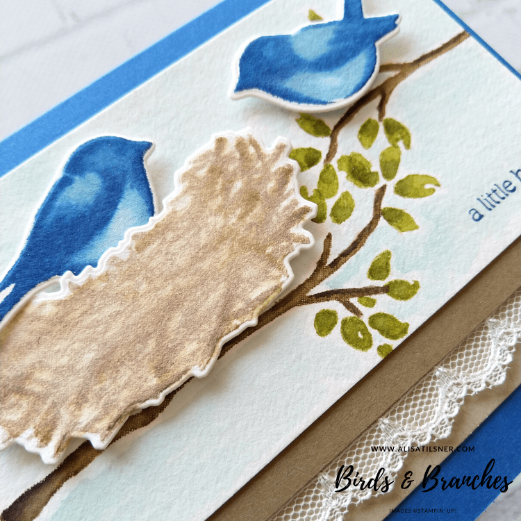 Birds & Branches Sneak Peek from the new 2020 Annual Catalogue.  Card by Alisa Tilsner.