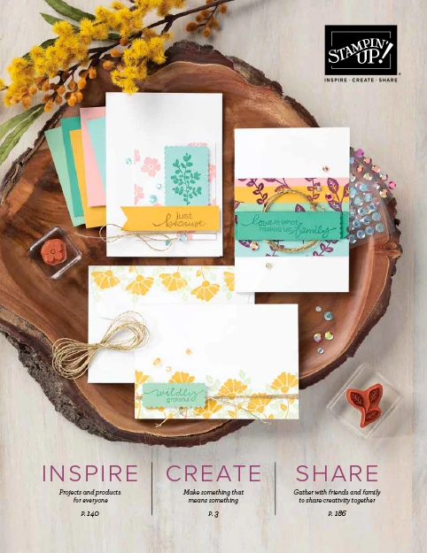 Download your Australian Stampin' Up! Annual Catalogue.