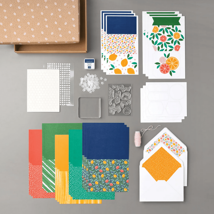 Simply Citrus Card Making Kit by Stampin' Up!