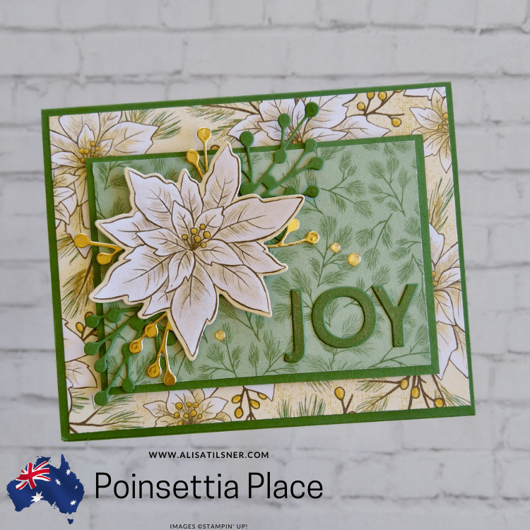 Poinsettia Place Christmas Card