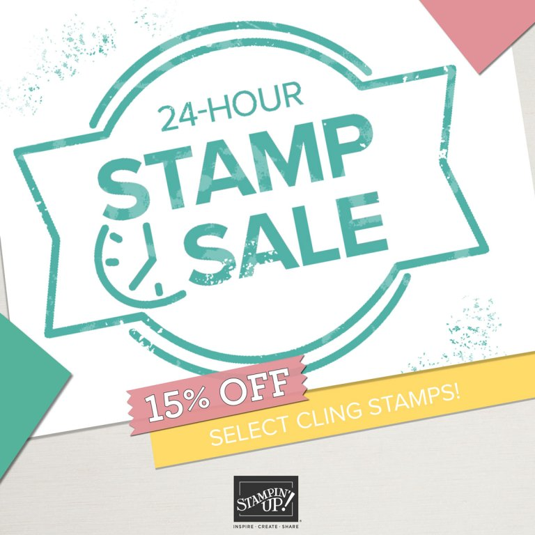 24Hour Stamp Sale starting 20th October