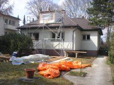 Der Umbau des Hauses beginnt